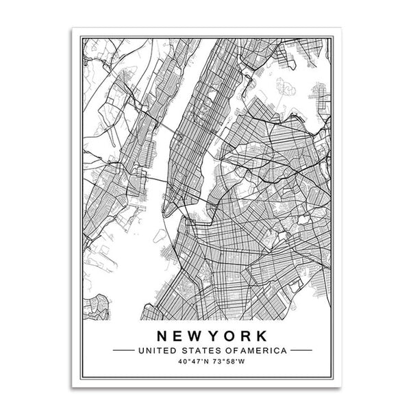 The Global Traveler Collection : New York City (Unframed)