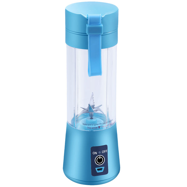 "The ""Keep My Routine"" USB Powered Travel Blender- Ice Blue"