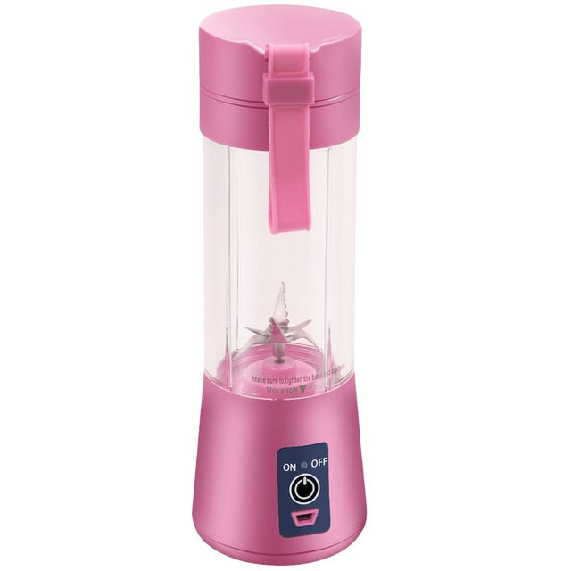 "The ""Keep My Routine"" USB Powered Travel Blender - Rose"