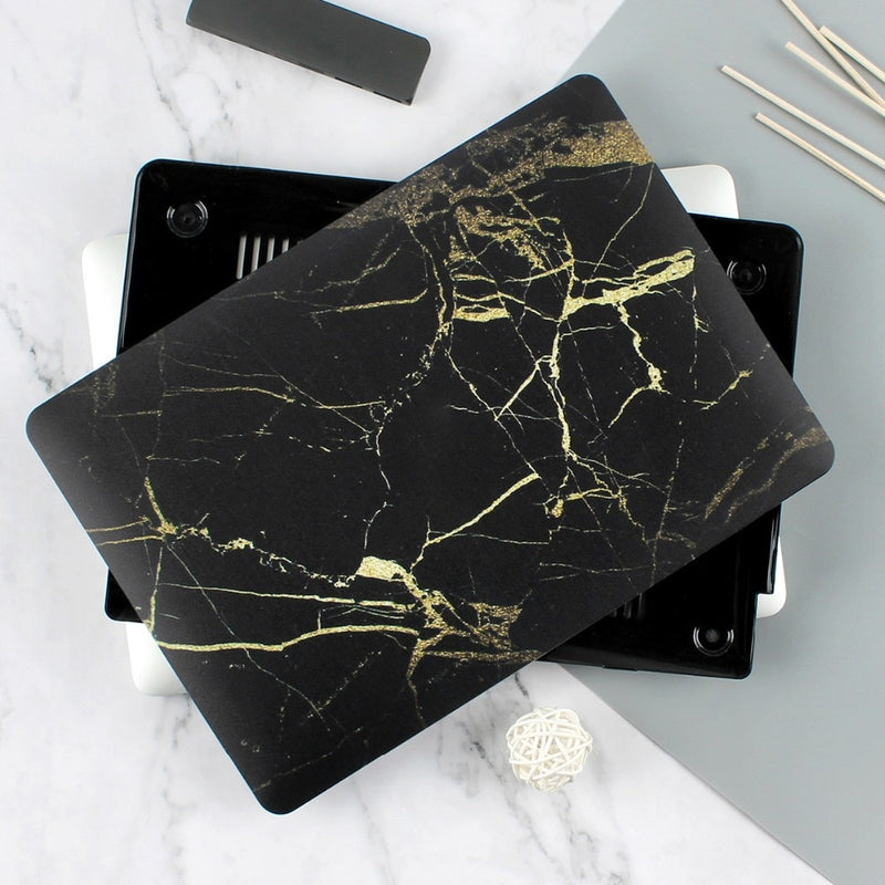 The Fierce Founder Case in Black Marble