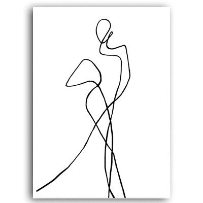 The Parisian Collection: Dancing Sketch (Unframed)