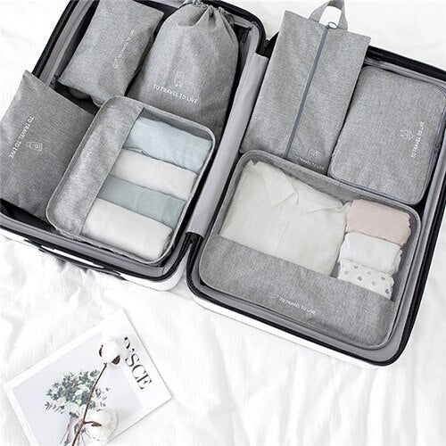 The Smart Traveler/ 7pc Easy Packing Set