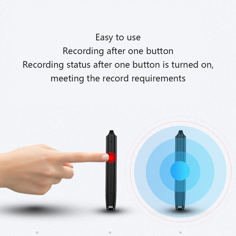 "The ""Perfect Memory"" 4GB Discreet Voice Recorder"