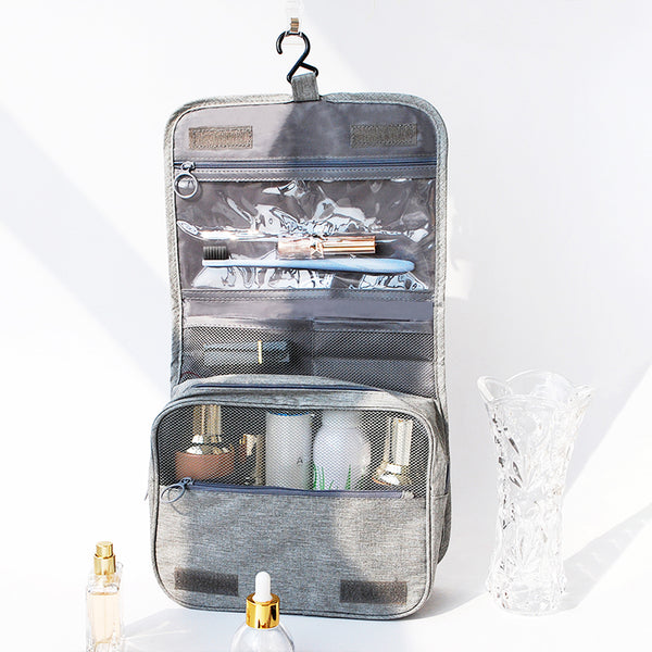 The Jetset Hanging Waterproof Cosmetic Bag