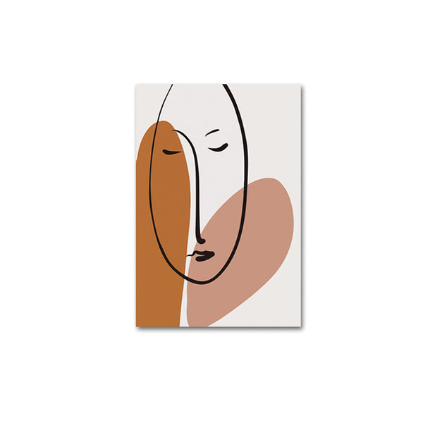 The Scandinavian Collection Face Print 50x70cm (Unframed)