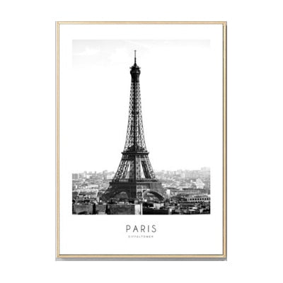 The Global Traveler Collection : Eiffel Tower (Unframed)