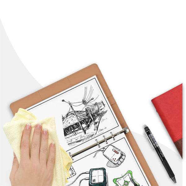 Reusable, Erasable Smart Notebook : (Three Colors)