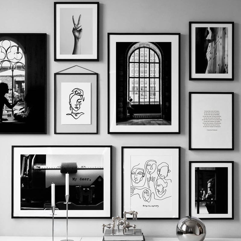The Impressive Photo Collection: Large Line Drawing (Unframed)