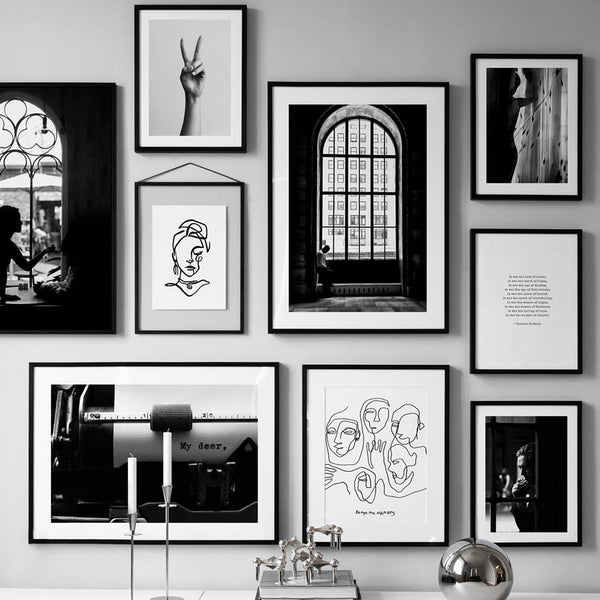 The Impressive Photo Collection: Small Line Drawing (Unframed)