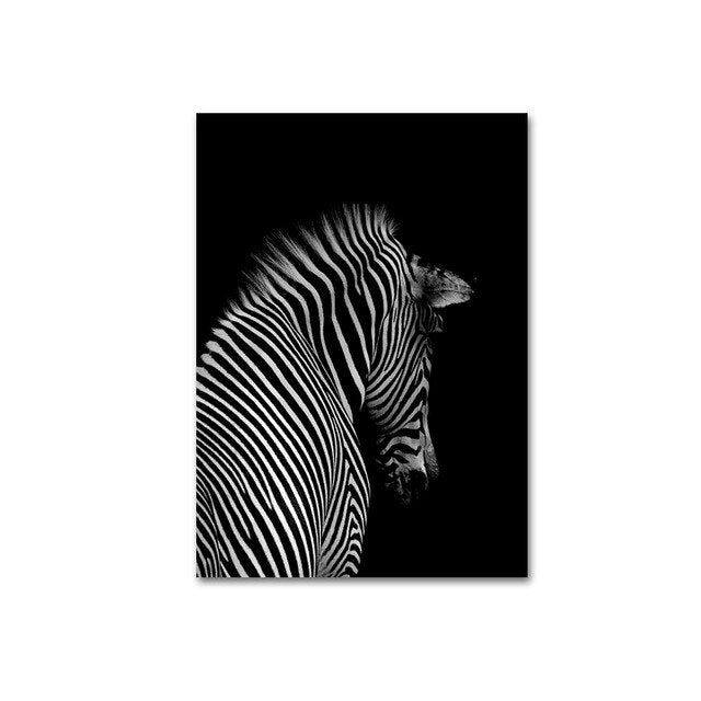 The Magnificant Safari Collection : Zebra (Unframed)