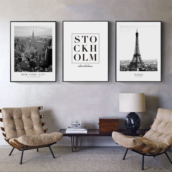 The Global Traveler Collection : Paris (Unframed)