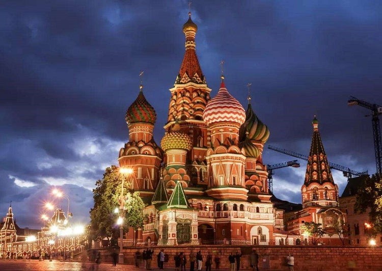 Metal Puzzle Saint Basil's Cathedral