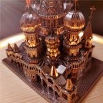 Load image into Gallery viewer, Metal Puzzle Saint Basil's Cathedral