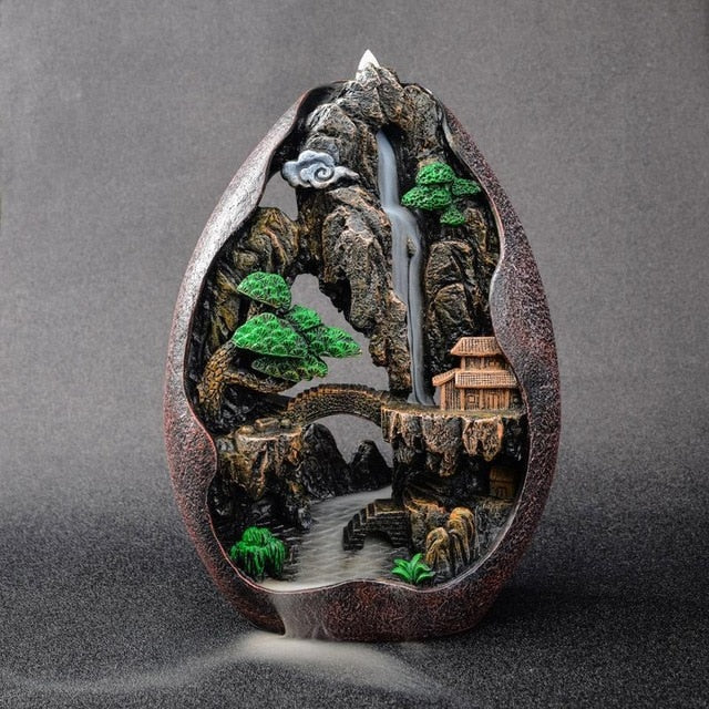 Mountain Incense Burner