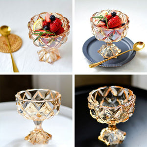 Crystal Ice Cream Cup