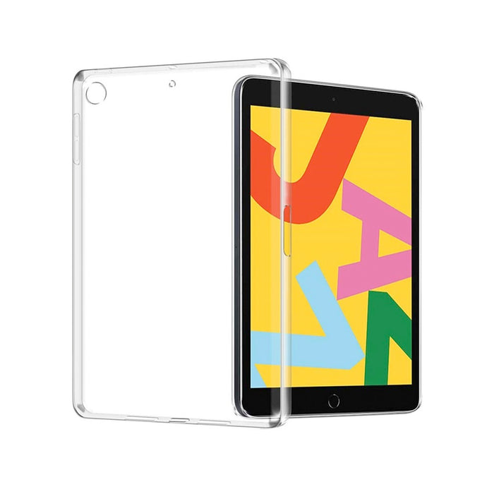 Funda para iPad 7 (2019) 10.2 Pulgadas Silicon Transparente. Case Gel Flexible Compatible iPad 7 (A2197, A2200, A2198) TPU 2 mm