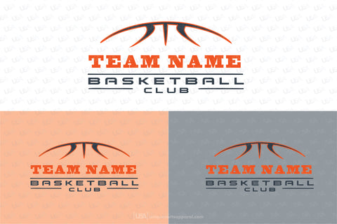 Basketball logo high resolution Vector graphics