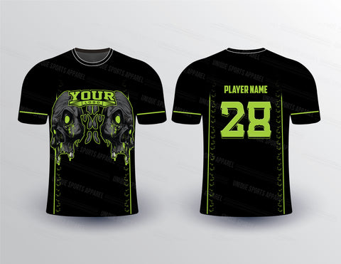 Bad Skully Sports Jersey Design Mockup