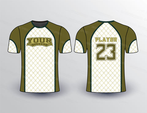 Net Background Sports Jersey Design Mockup