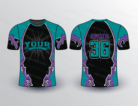 Tribal Style Sports Jersey Design Mockup