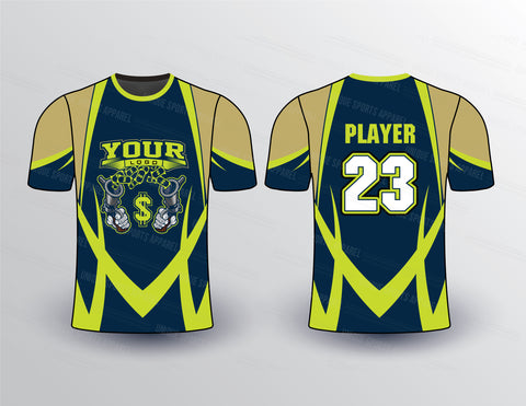 Money War Sports Jersey Design Mockup