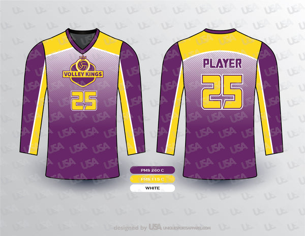 VOLLEY KINGS VOLLEYBALL FULL SLEEVES JERSEY