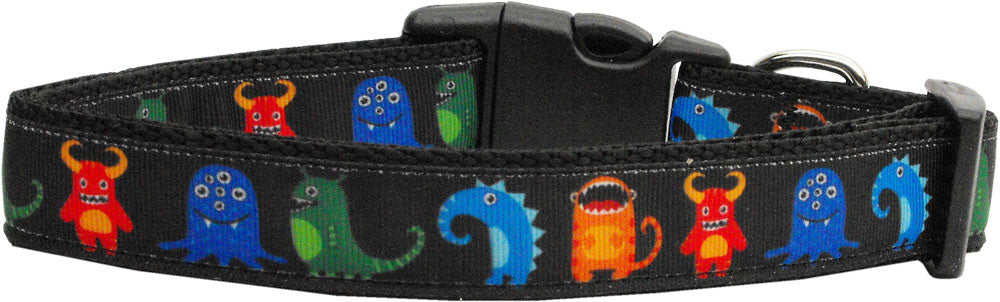 monsters nylon collar