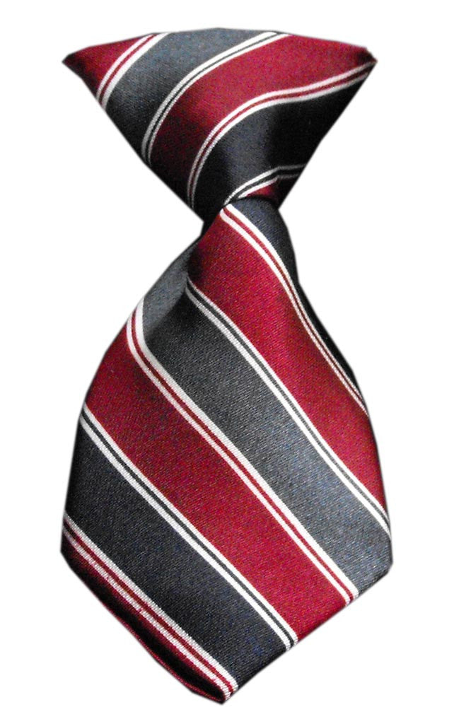 classic stripes dog neck tie