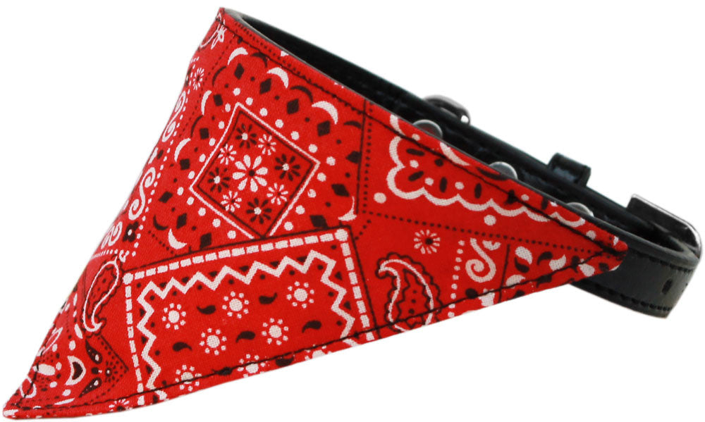 Western Bandana Dog Collar