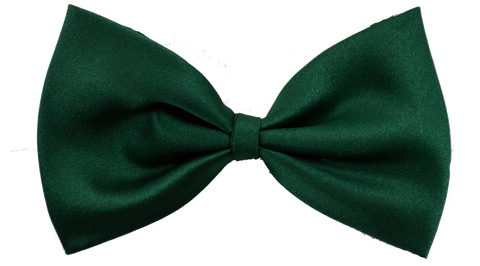 Dark Green Dog Bow Tie