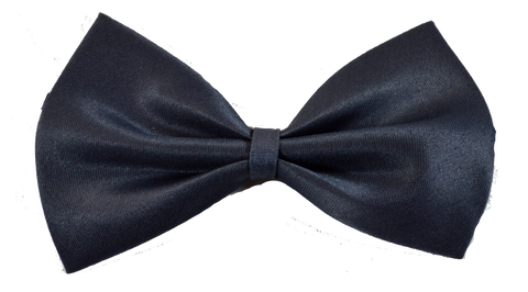 Grey Dog Bow Tie
