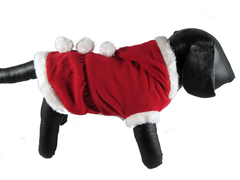 mrs claus santa dress  sc 1 st  Gizmou0027s Dog Shop & Mrs. Claus Dog Dress u2013 Gizmou0027s Dog Shop