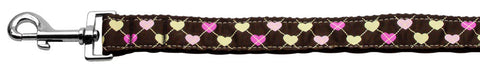 Argyle Hearts Leash