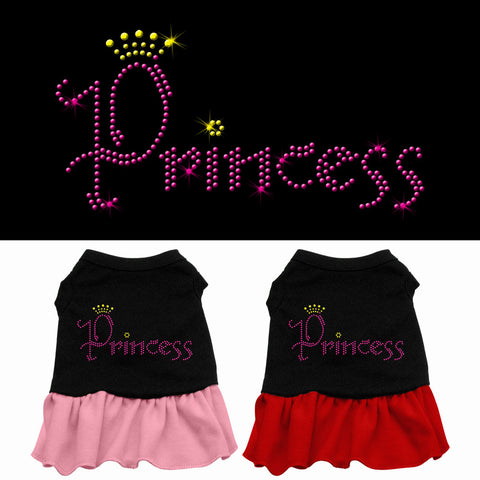 Princess Rhinestone Dog Dress
