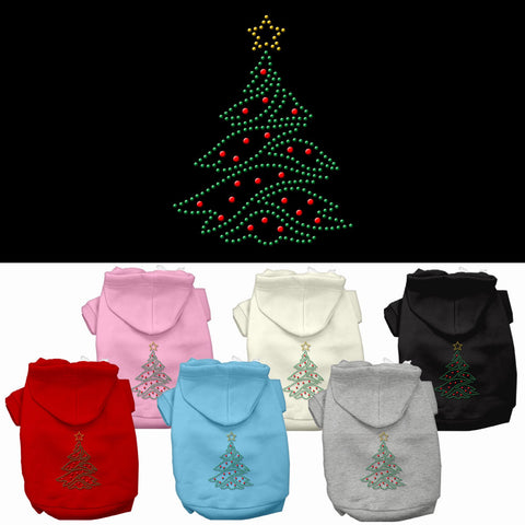 Christmas Tree Dog Hoodie