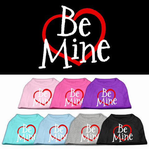 Be Mine Dog Shirt