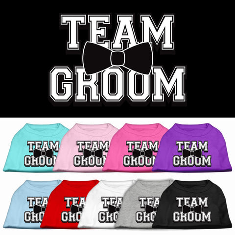 Team Groom Dog Shirt