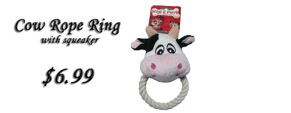 Cow Rope Tug Toy