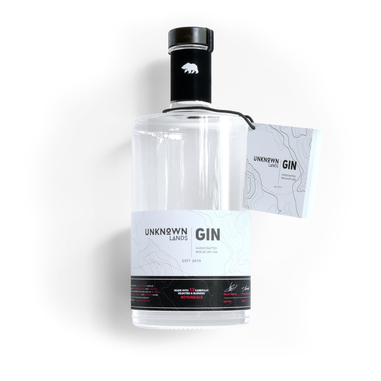 Double Trouble Pack - UNKNOWN Lands | Classic Gin & Devil's Peak Gin - 2x 500ml