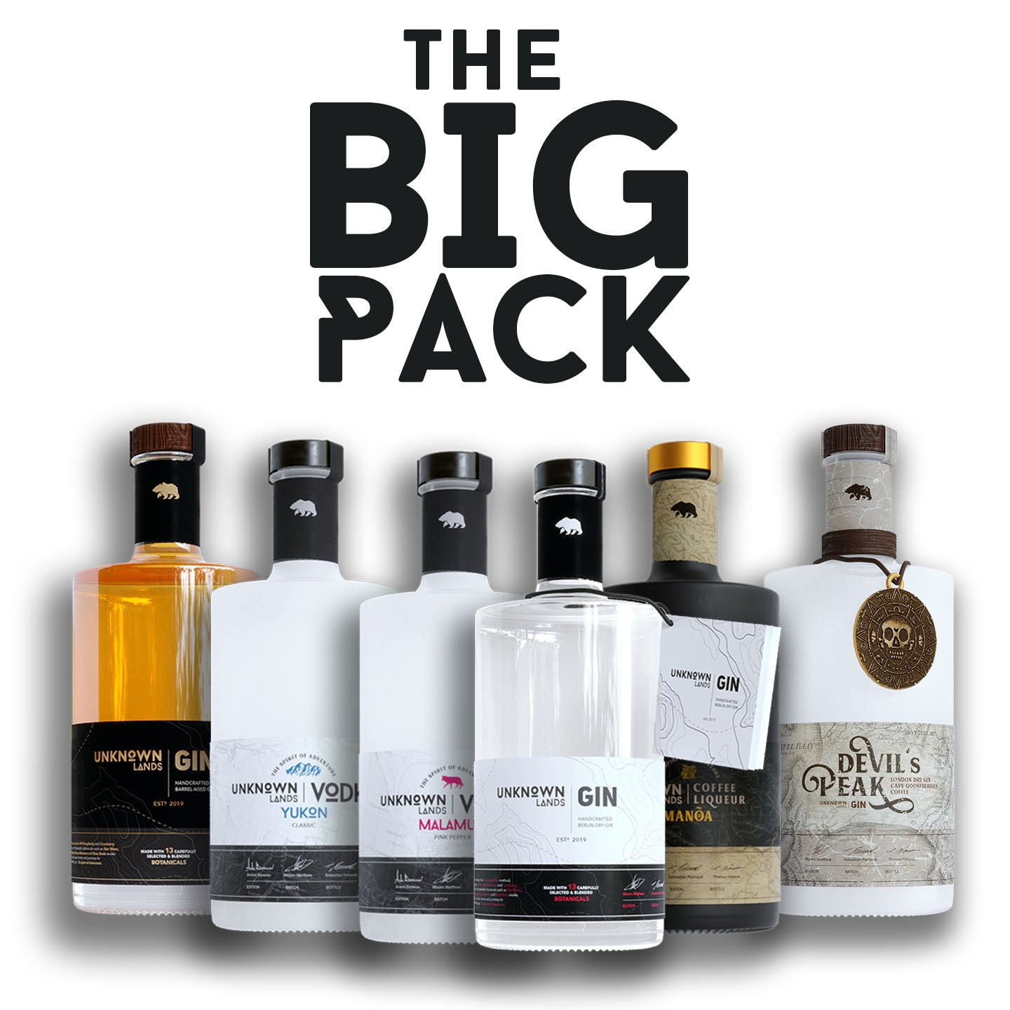 "UNKNOWN Lands | Spirits  ""THE BIG PACK"""