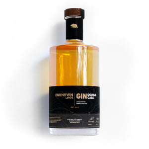 UNKNOWN Lands | Gin - Double Cask - Barrel Aged Gin - 500ml