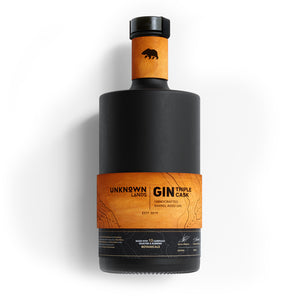 UNKNOWN Lands | Gin - Triple Cask - Barrel Aged Gin - Limited Edition - 500ml