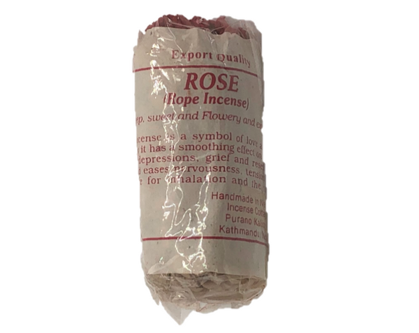 Tibetan Rose Rope Incense