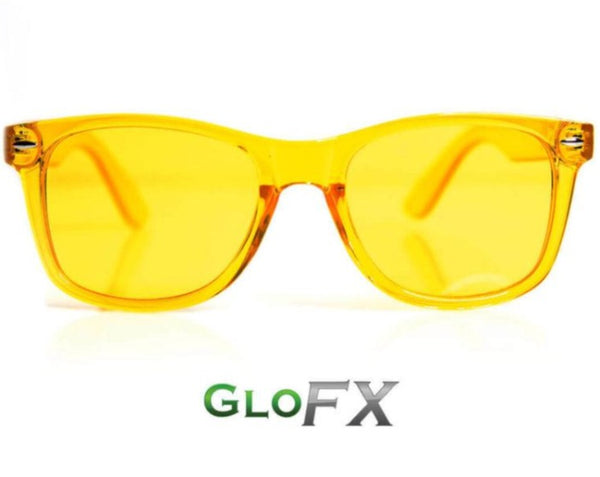 Yellow GloFx Color Therapy Glasses