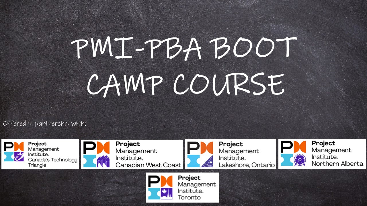 PMI-PBA Boot Camp Course - Virtual Self-Paced Anytime Learning On Demand