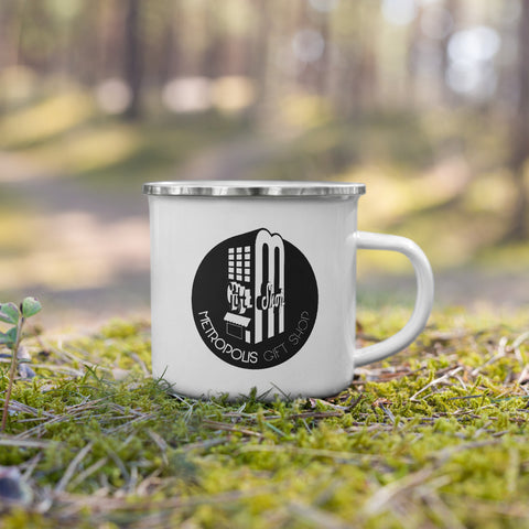 The Metropolis gift Shop - Urban Camper Enamel Mug