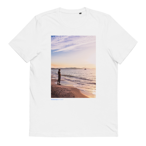 Metropical - Golden Sunrise - Unisex Organic Cotton T-Shirt