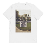 Metropical : Keep Off! Hula! - Unisex Organic Cotton T-Shirt