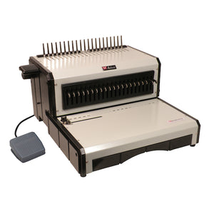 AlphaBind-CE Electric Plastic Comb Binding Machine