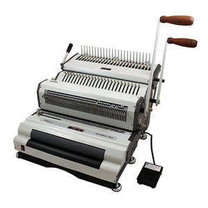 DuoMac-C41ECI+Plastic Comb and 4:1 Coil Binding Machine